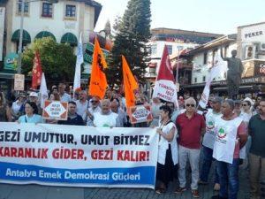 """""""Gezi Yargılanamaz"""" Basın Açıklaması"""