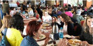 Kadın üyelerimiz kahvaltıda buluştu